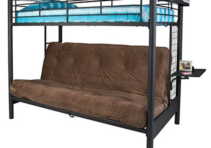 Metal Loft Bed Queen