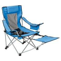 Quad Folding Chair with Footrest