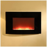 "View 35"" Wall Mount Fireplace Deals at Big Lots"