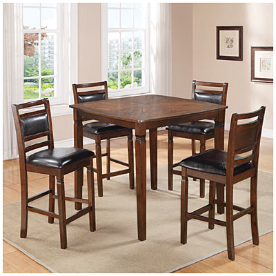 big lots kitchen chairs cabinets accessories 5-piece wooden pub set with padded seats |