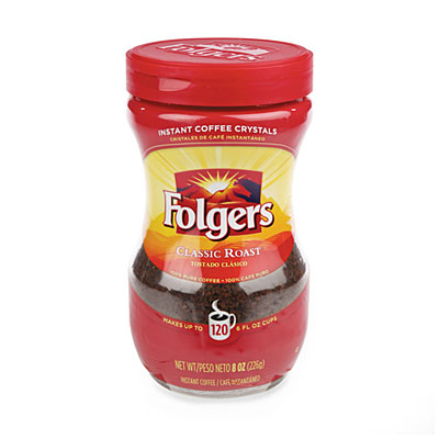 Folgers Classic Roast Instant Coffee Crystals Big Lots