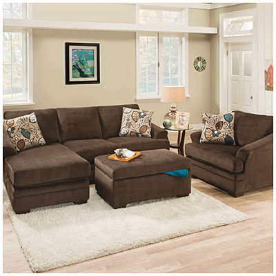 simmons reversible chaise sofa orange ikea simmons® sunflower brown with   big ...