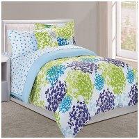 Dan River Twin Sansa 6-Piece Bed-In-A-Bag Comforter Set ...