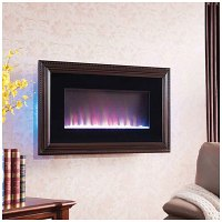 Wall Mount Electric Fireplace with Frame | Big Lots