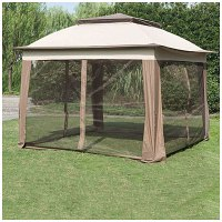 Wilson & Fisher 11' x 11' Pop Up Canopy with Netting ...