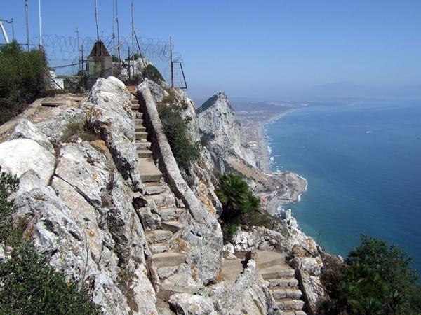 Mediterranean Steps Gibraltar