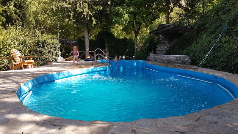 cazorla camping pool