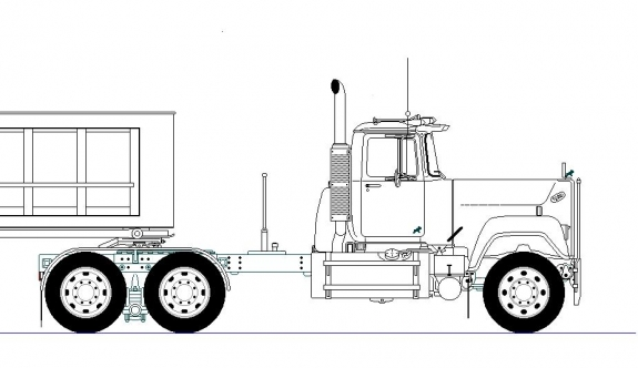 Mack Truck: How To Draw A Mack Truck