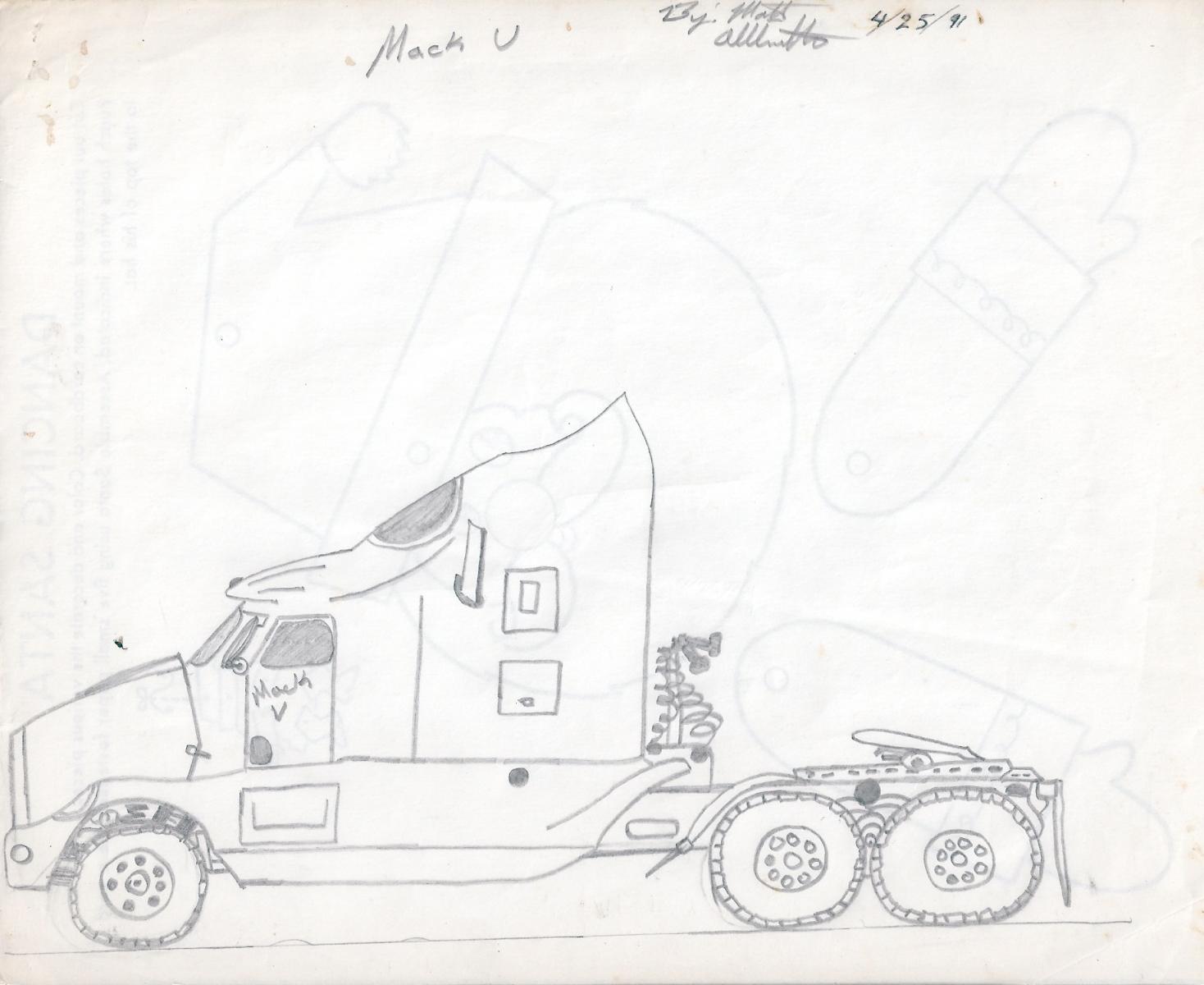 Mack V Concept Truck