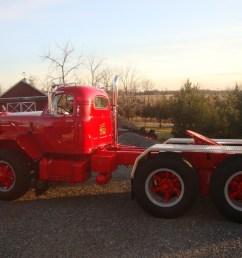mack b 81 tandem tractor [ 1600 x 1200 Pixel ]