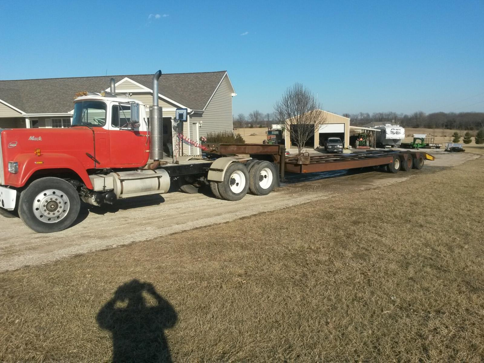 Questions About An Older Trixale Lowboy Trailer