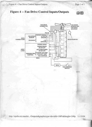 Mack Truck Wiring Diagrams Fan Relay Electrical Electronics And Lighting