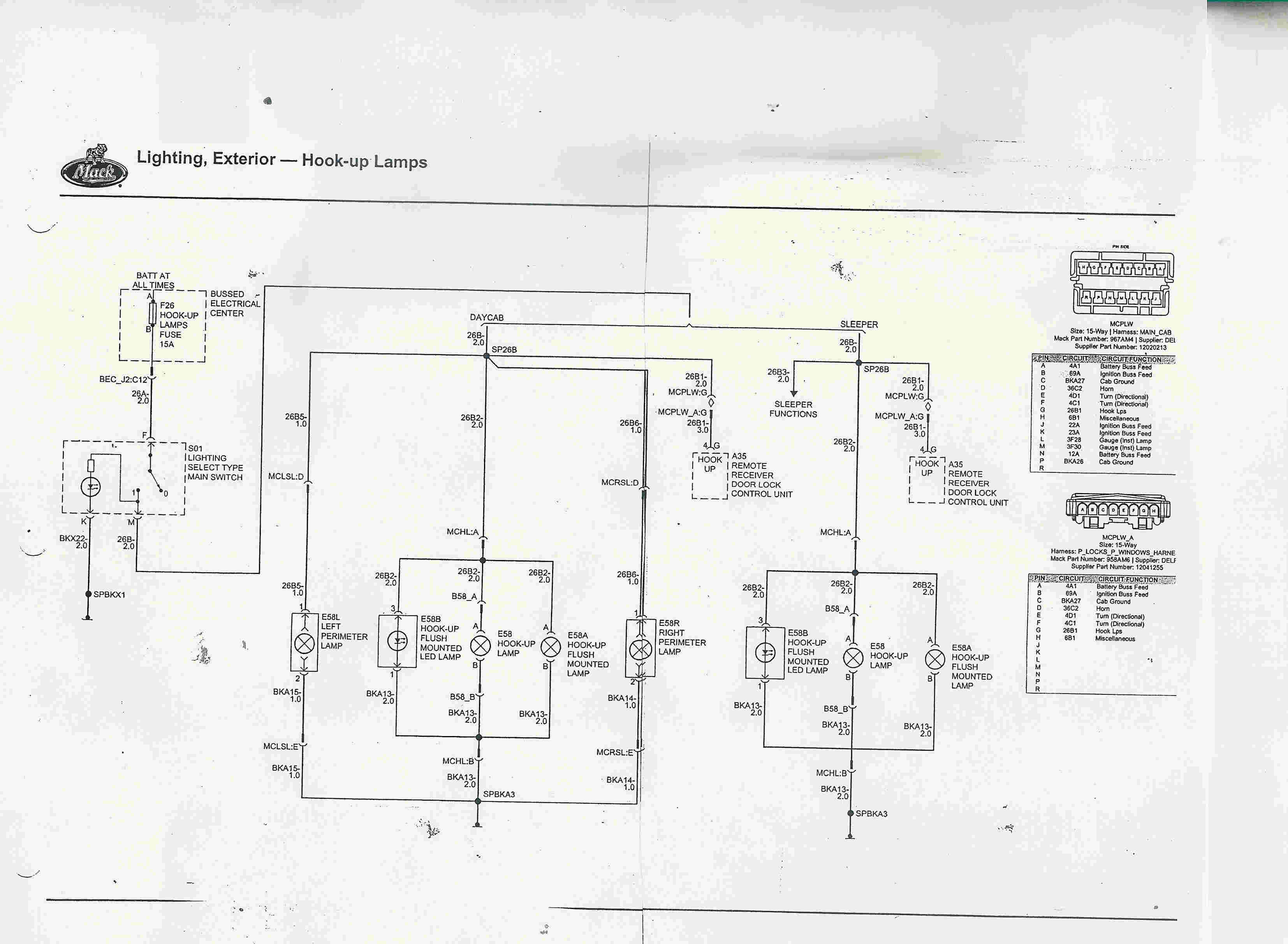mack cxu wiring diagram