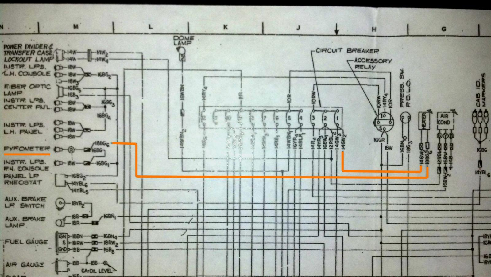 hight resolution of mack truck wiring diagrams mack truck headlight wiring