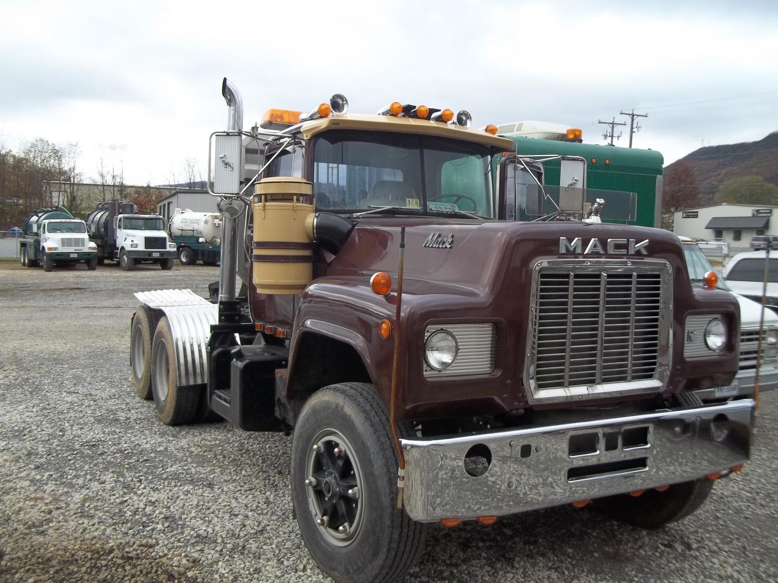 hight resolution of 1977 mack v8 e9 r735st1010 trucks for sale