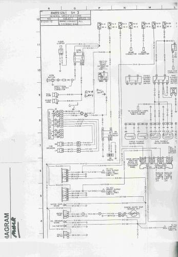 mack truck wiring schematic diagram