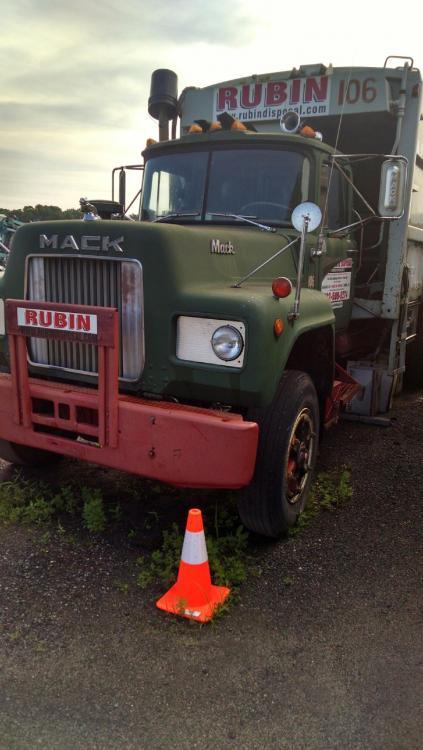 1976 Mack R Model Garbage Truck For Sale  Trucks for Sale