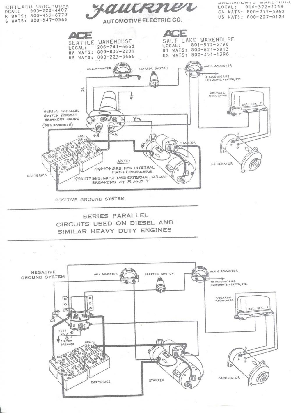 medium resolution of wiring schematic for series parallel switch antique classic mack parallel switch wiring diagram kenworth