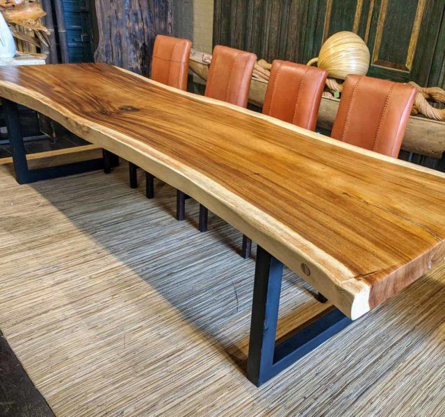 tables reclaimed wood big mango
