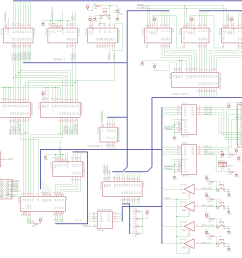 enough with the vague design talk here s the circuit schematic for the nibbler 4  [ 1399 x 1250 Pixel ]
