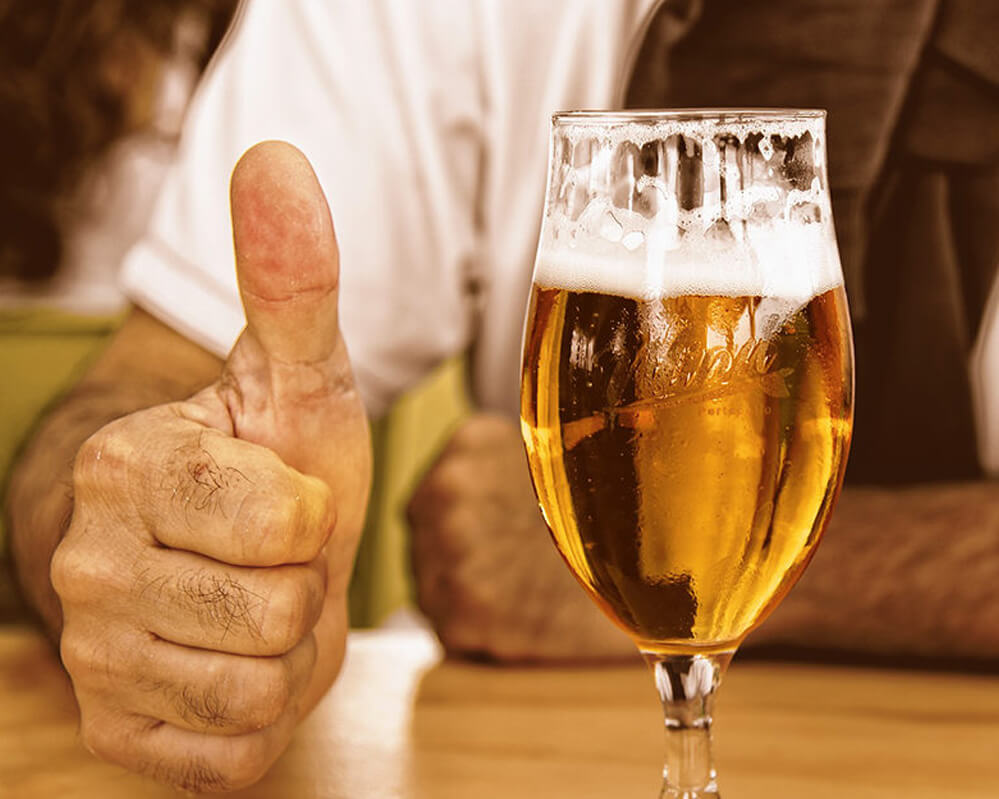 comment bien servir une bière