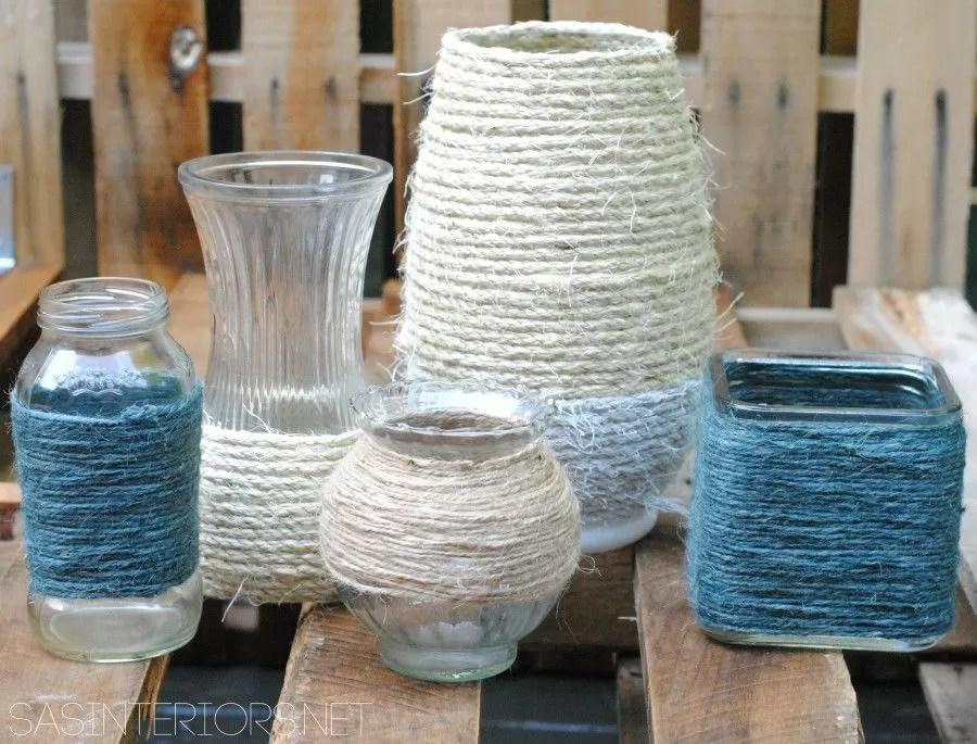 Idee creative per riciclare barattoli e bottiglie  Bigodino