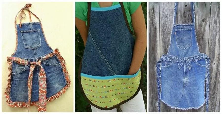 Riciclare vecchi jeans per creare qualcosa di molto trendy