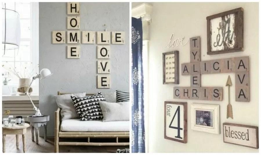 Decorare le pareti di casa con il lettering  Bigodino
