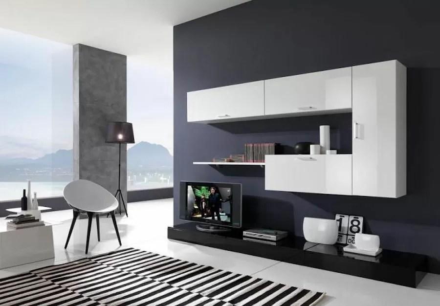 Arredare casa con le pareti nere  Bigodino