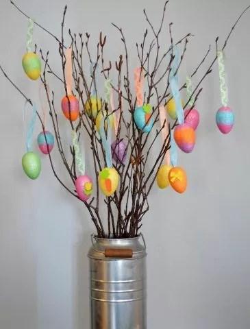 Come realizzare lAlbero di Pasqua fai da te  Bigodino