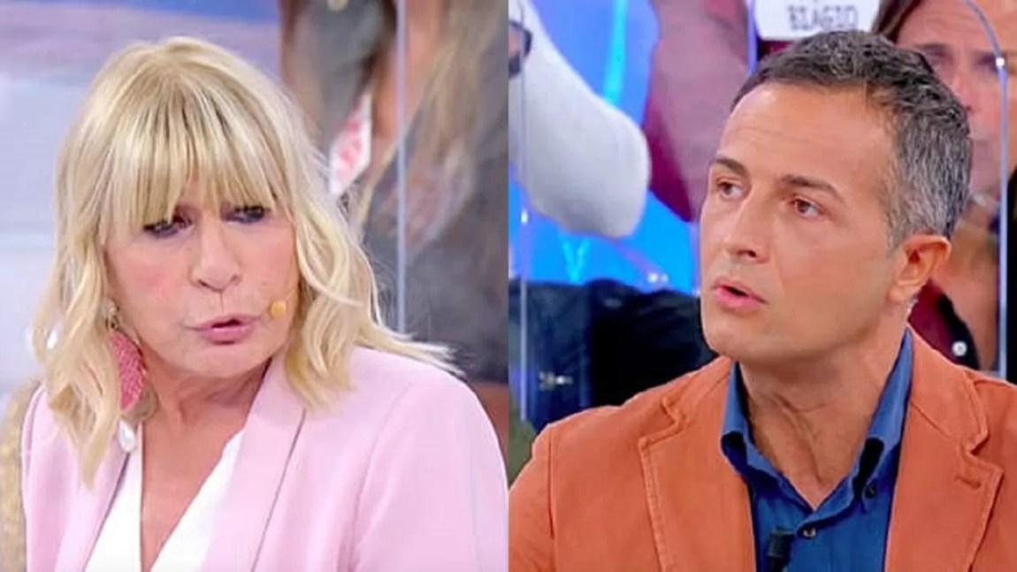 UeD, Gemma Galgani attacks Riccardo Guarnieri