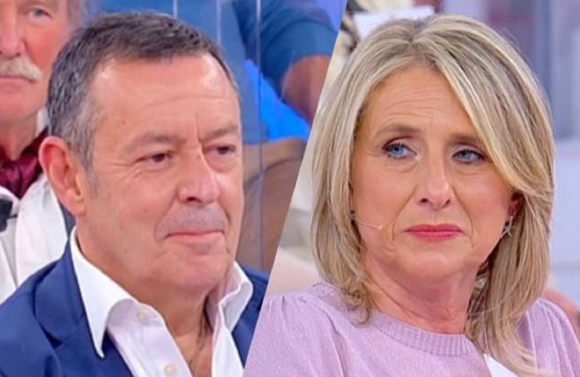 """UeD Sara Zilli explains the break with Mauro """"I was in trouble"""""""