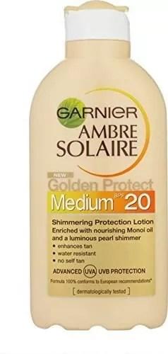 Garnier Ambre Solaire - Golden Protect SPF 20 sunscreen