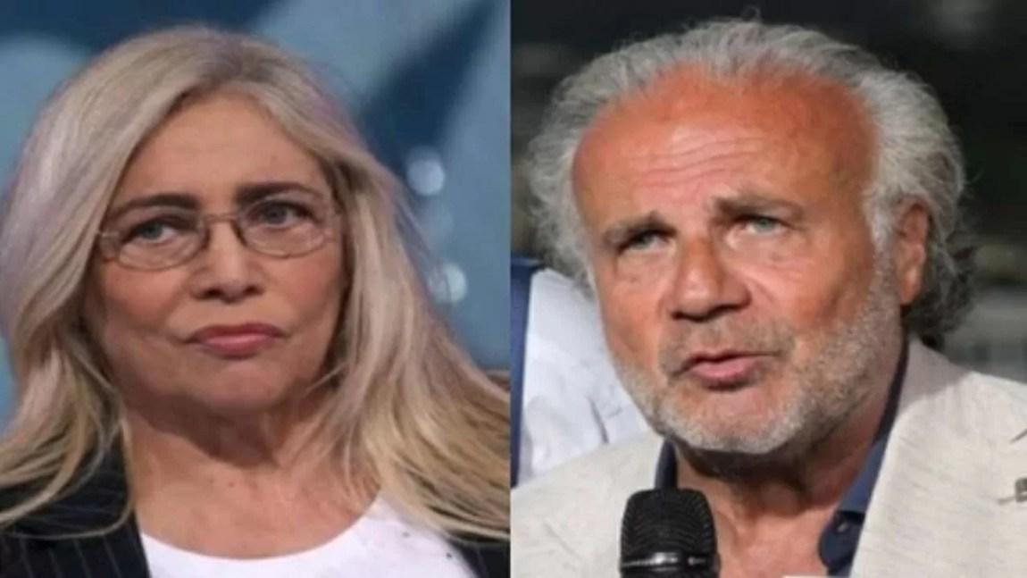 Why did Mara Venier and Jerry Calà break up?