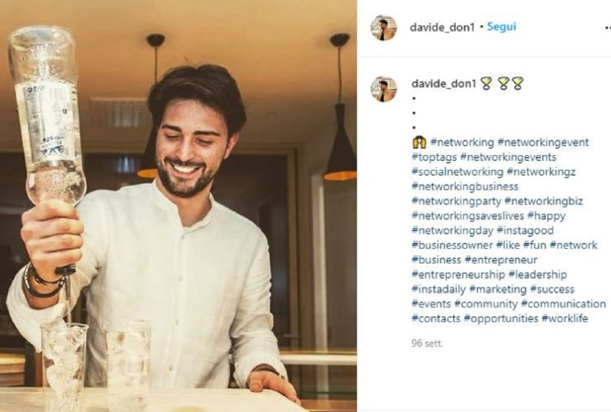 UeD Davide Donadei makes his dream come true