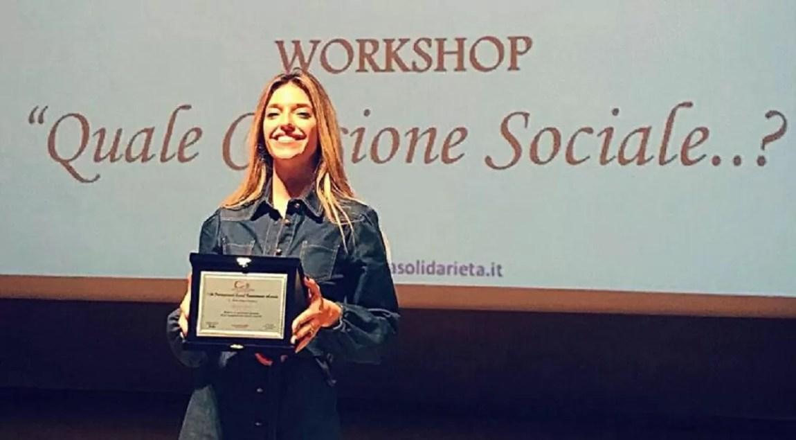 Guenda Goria receives recognition