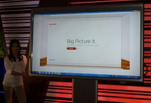 Sharp Unveils the Board. an 80-inch Touch Screen LED TV/Whiteboard PC : BigPictureBigSound