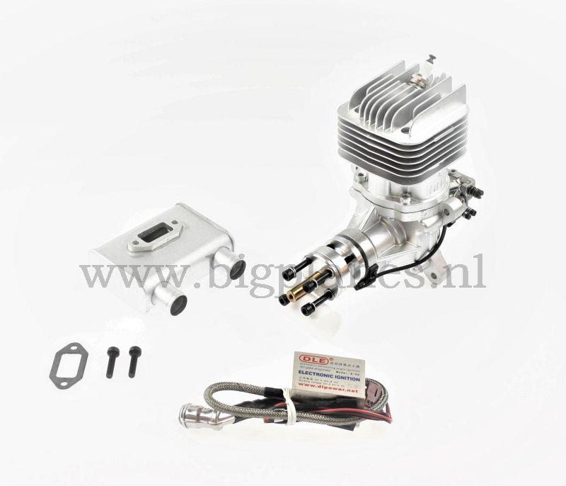 DLE60 Twin gas engine (61cc, 5.5hp, 1930gr)