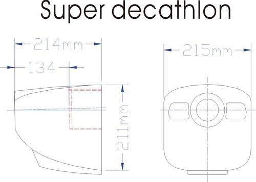 Super Decathlon Blue Airplane ARF (245cm, 8kg, 35cc