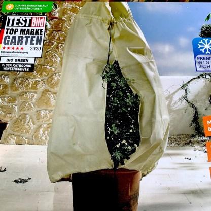 Plant protection fleece jacket