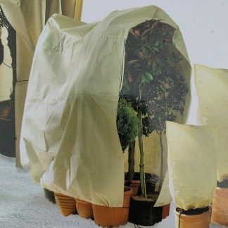 Plant protection fleece jackets in a range of sizes at Big Plant Nursery