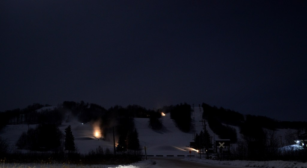 Big Powderhorn at night