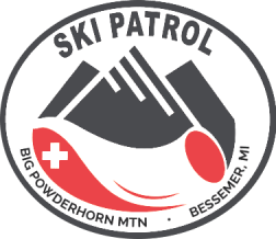 Big Powderhorn Mountain Ski Patrol Patch