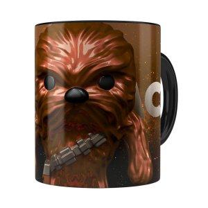 Caneca Star Wars Chewbacca 3d Print Preta