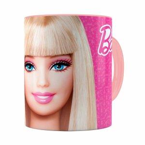 Caneca Barbie Boneca 3d Print Rosa