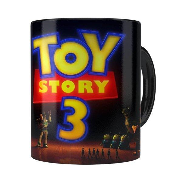 Caneca Toy Story 3 V01 Preta