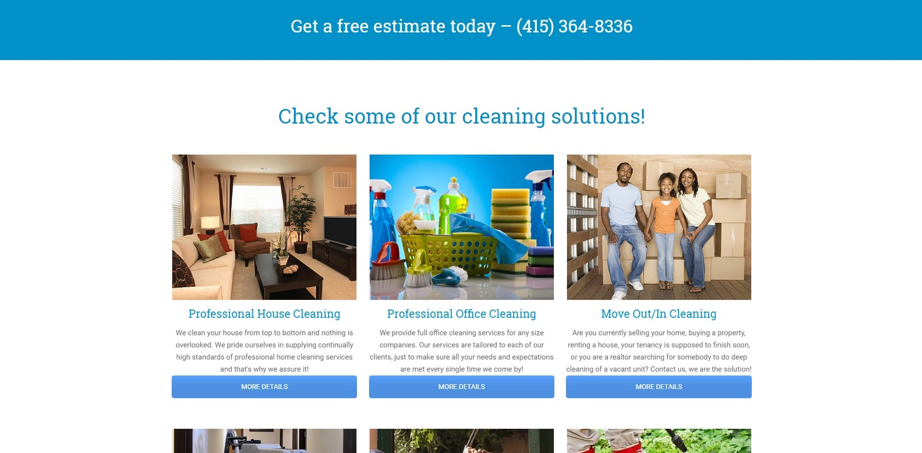 bigPromoter tam2 Tamalpais Cleaning Services