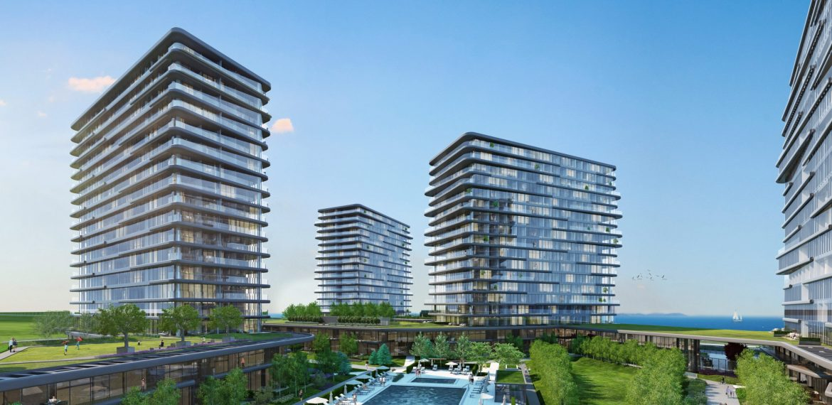Best opportunity flats for sale with amazing sea view in Istanbul Fatih