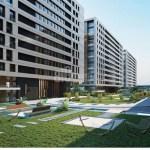 Big houses for sale with horizon sea view in Azur Marmara Istanbul Beylikduzu