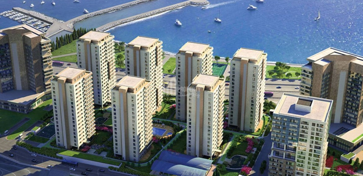 Deluxe property for sale with amazing sea view in Istanbul Zeytinburnu